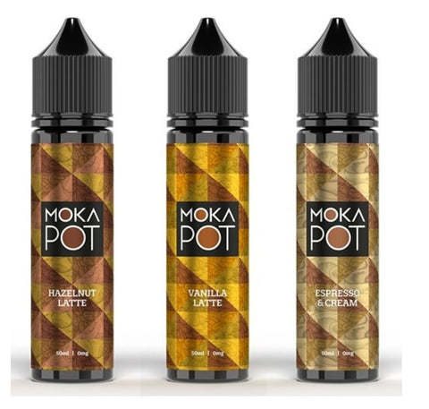 Moka Pot E-Liquids 50ml Shortfill
