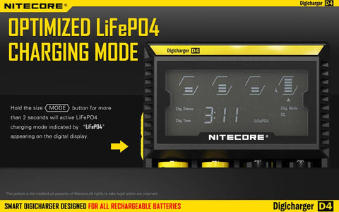 Nitecore D4 Charger