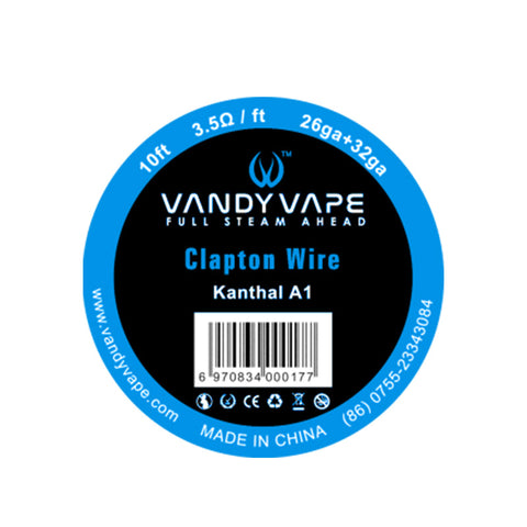 Vandy Vape Clapton Kanthal A1 Wire 10ft - Vaping 101 UK's Number 1