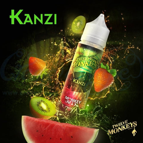 Twelve Monkeys E-Liquid 50ml Shortfill Juice Range
