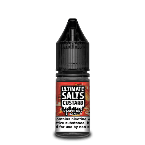Ultimate Salts - Custard 10ml Nic Salts - Vaping 101 UK's Number 1