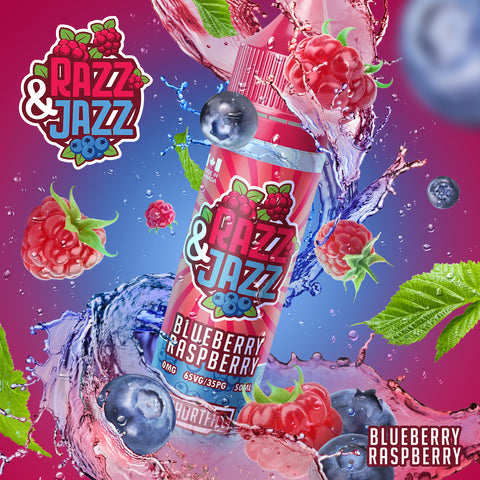 Razz & Jazz E-Liquids 50ml Shortfill by Twelve Monkeys
