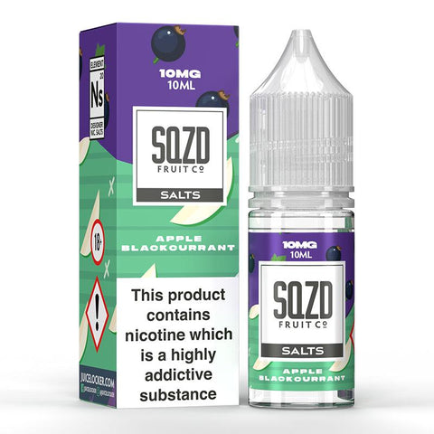 SQZD On Ice Juice Co. 10ml Nic Salts - Vaping 101 UK's Number 1
