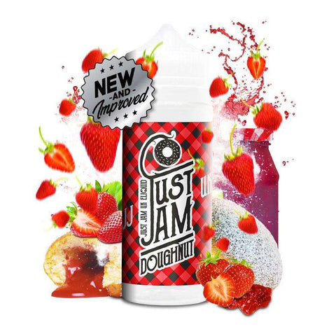 Just Jam 100ml Shortfill Juice Range - Vaping 101 UK's Number 1