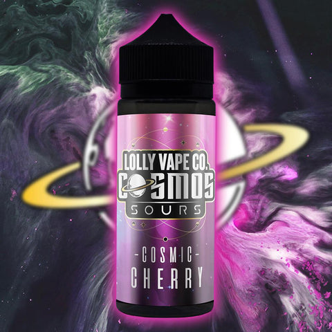 Lolly Vape Co. Cosmos Sours 100ml Shortfill E-Liquids
