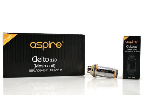 Aspire Cleito 120 Pro Mesh Coils 0.15 - Vaping 101 UK's Number 1
