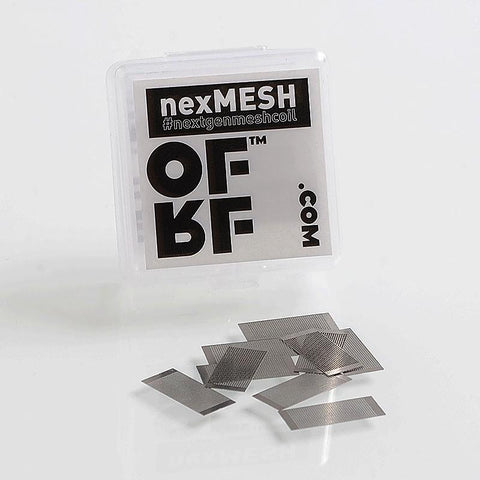 OFRF - nexMesh 0.13ohm Mesh Strips Pack OF 10 to suit Wotofo Profile RDA