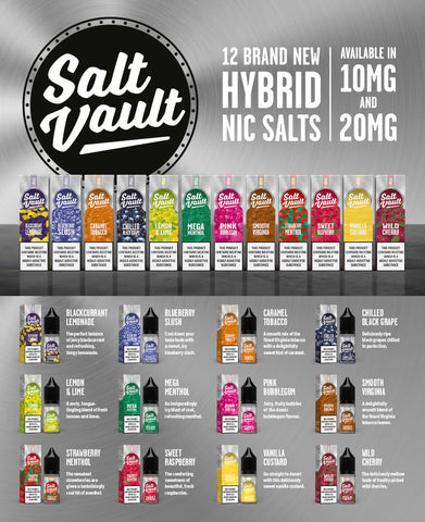 Salt Vault E-Liquids 10ml Nic Salts
