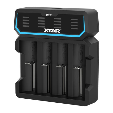 Xtar D4 4 Slot Quick Charger
