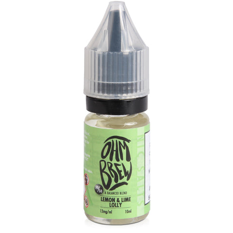 Ohm Brew Nic Salts E-Liquid 18mg 10ml