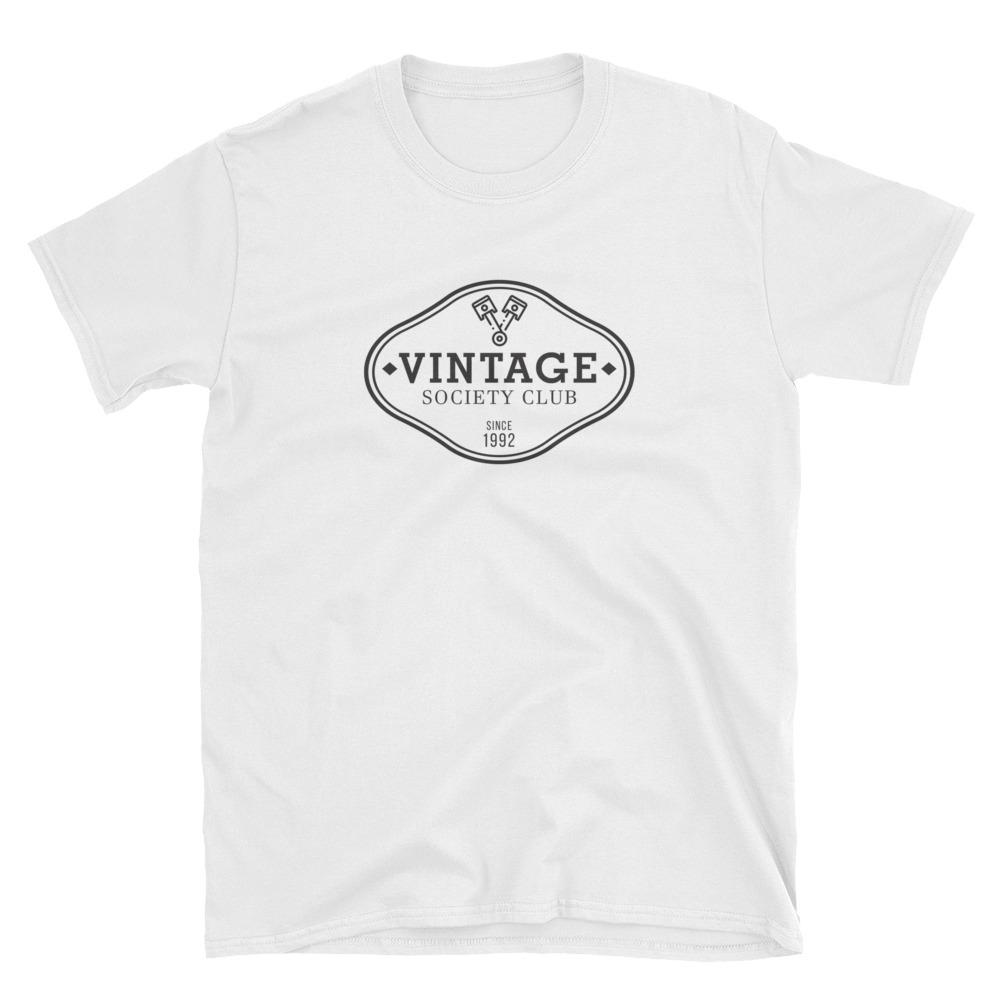 Vintage Society Club T-shirt - The Vintage Society Store