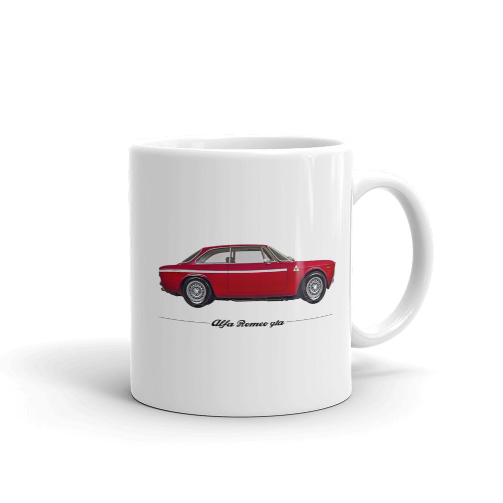 "GTA ""Quadrifoglio""Mug - The Vintage Society Store"