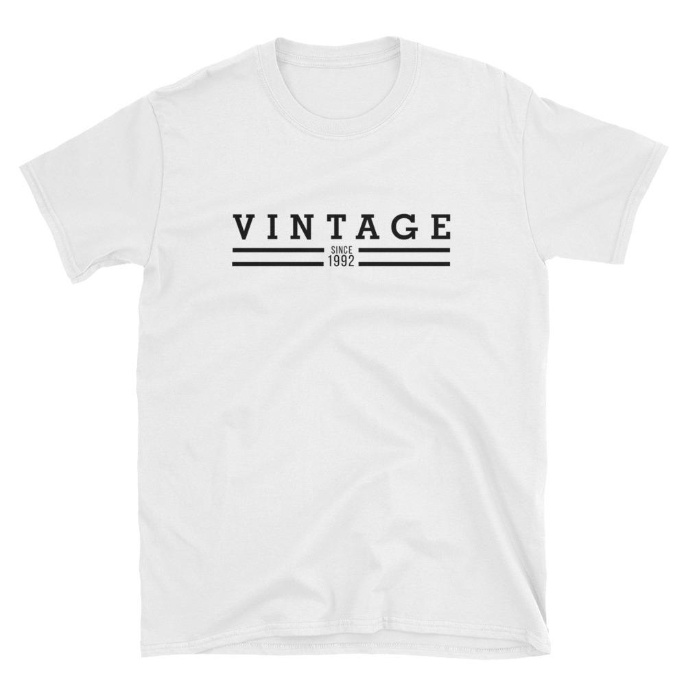 Vintage Since 1992 T-shirt - The Vintage Society Store