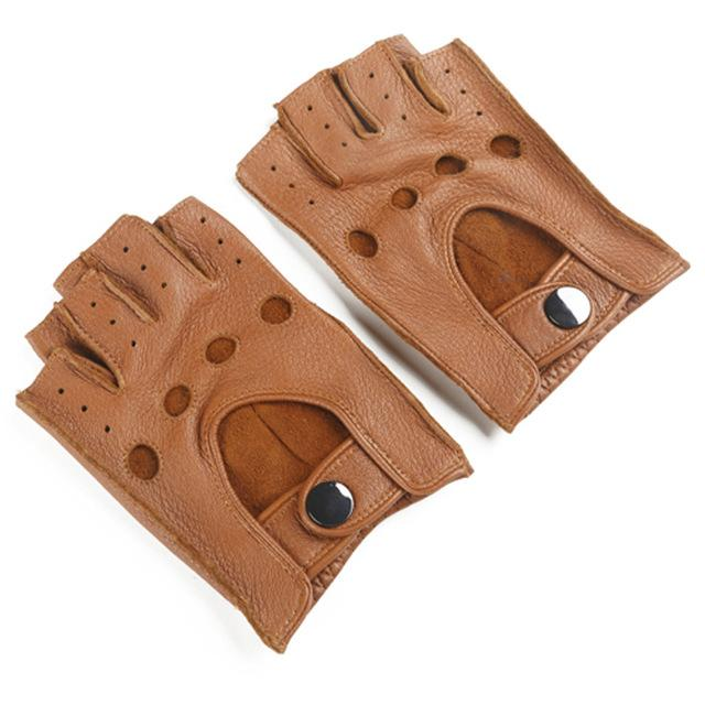 Vintage Leather Driving Gloves - The Vintage Society Store