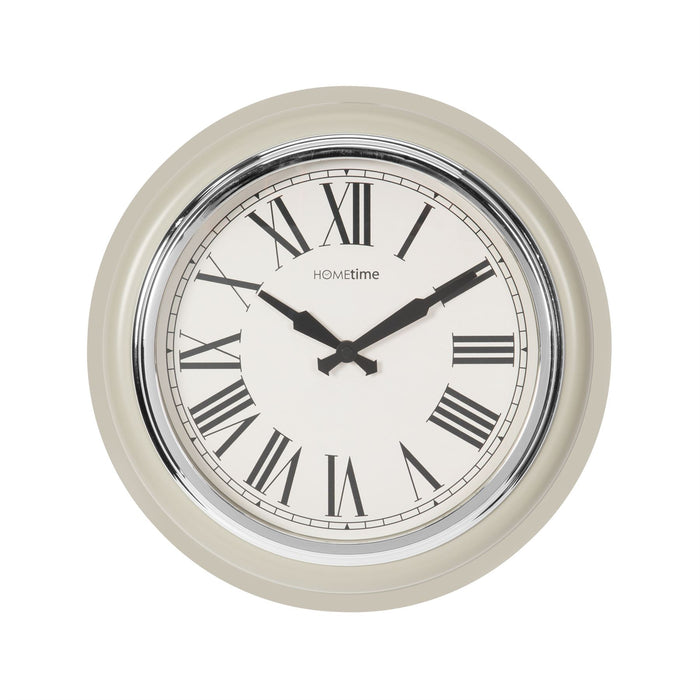 Hometime Retro Round Wall Clock