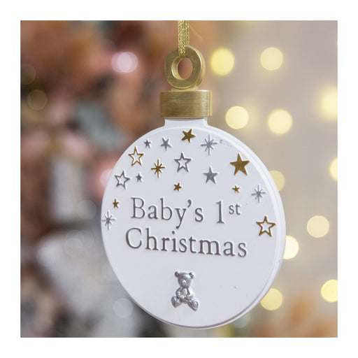 Bambino Baby's First Christmas Resin Plaque