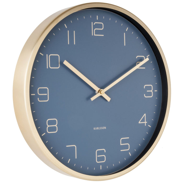Karlsson Gold Elegance 30cm Wall Clock