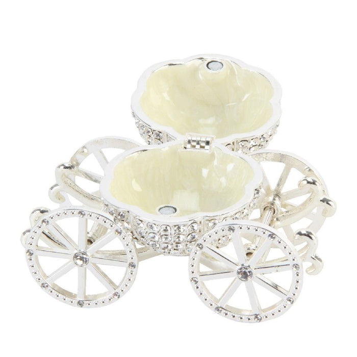 Treasured Trinkets Crystal Carriage Ornament