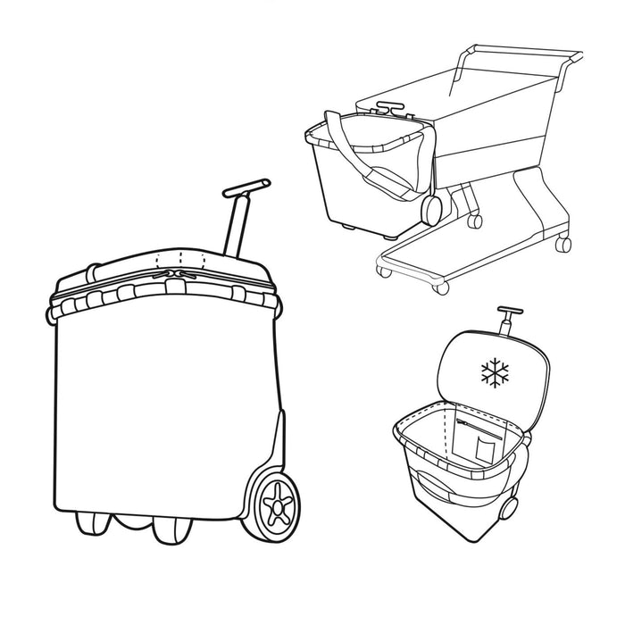 Reisenthel Carrycruiser ISO Insultated Shopping Trolley