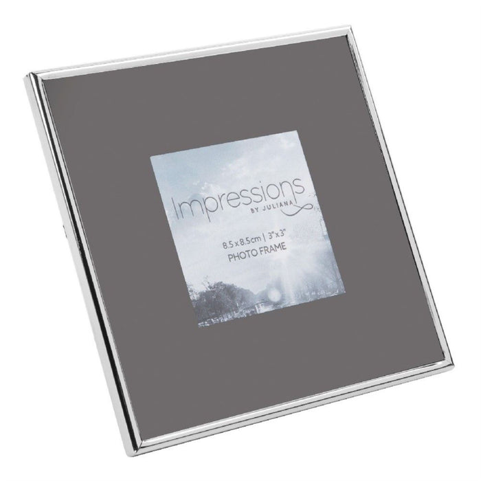 Impressions Nickel Plated Grey Insert Photo Frames