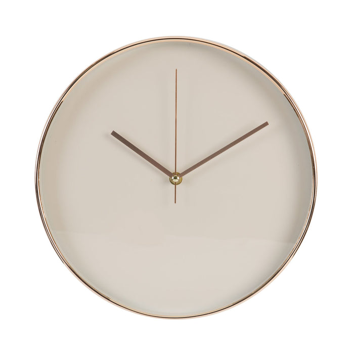 Hometime Copper Effect 30.5cm Wall Clock