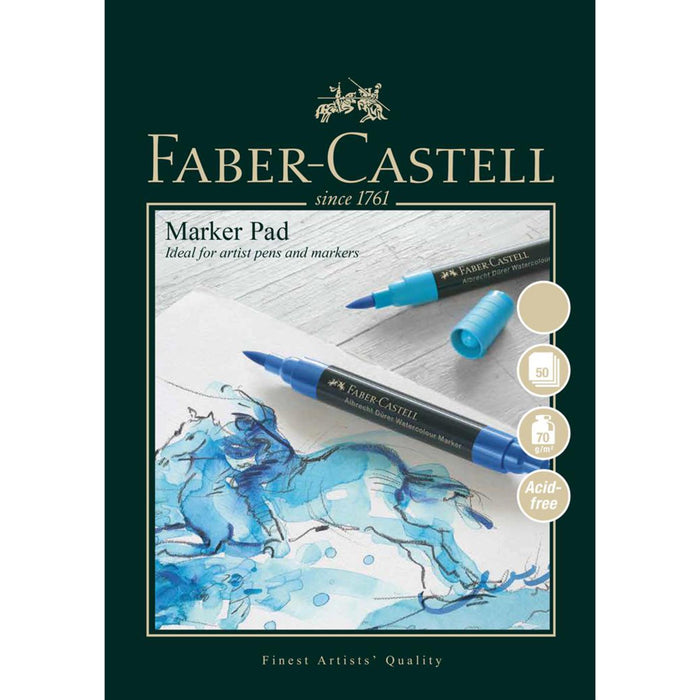 Faber Castell 50 Sheet Marker Paper Pad