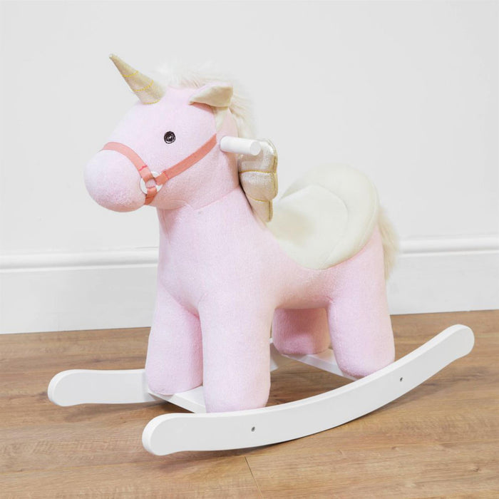 Pink Rocking Unicorn From Kids 4 You