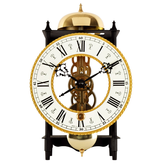 Acctim Alcester Black Mantel Clock or Wall Clock