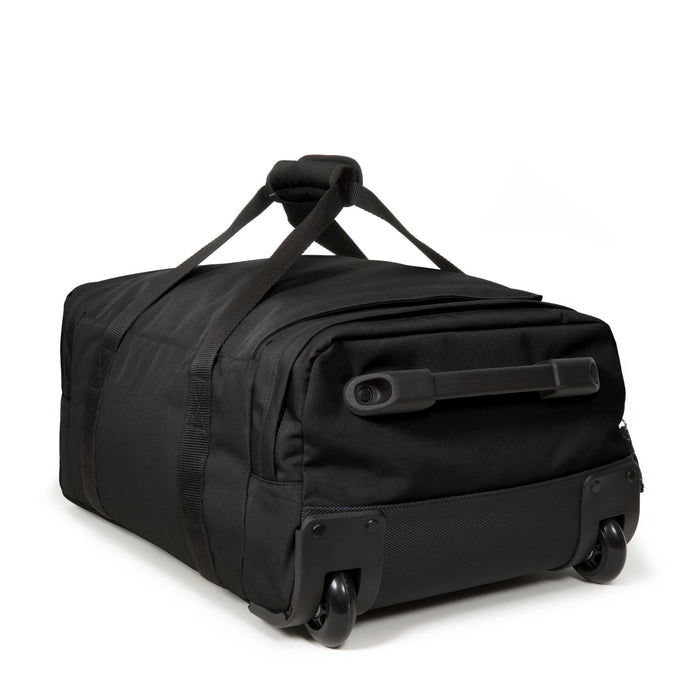 Eastpak Leatherface S + Small Black Rolling Holdall
