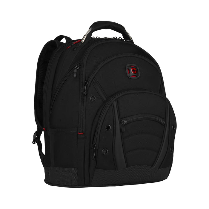 "Wenger Synergy Deluxe Ballistic 16"" Laptop Black Backpack"