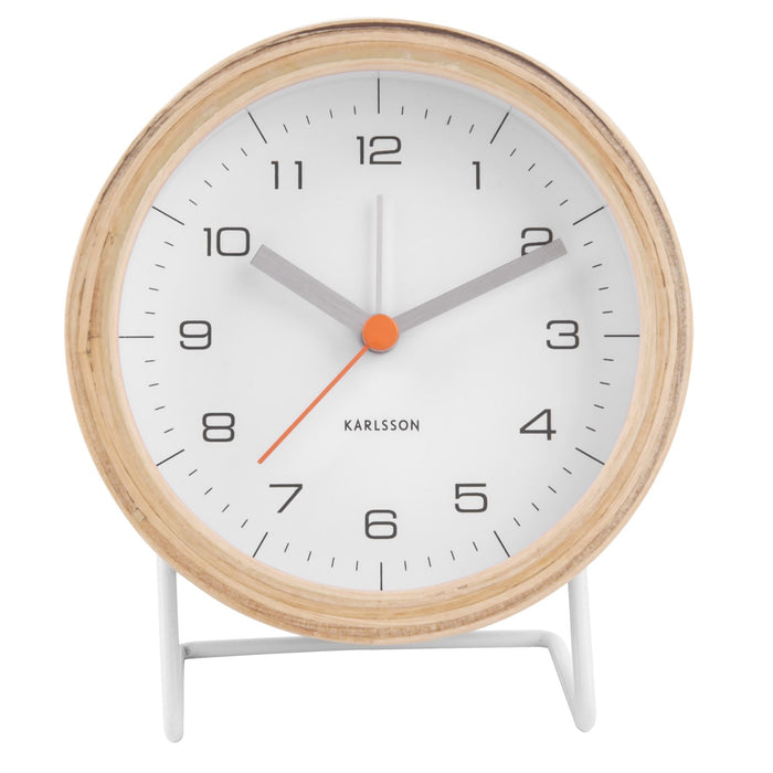 Karlsson Innate Silent Alarm Clock