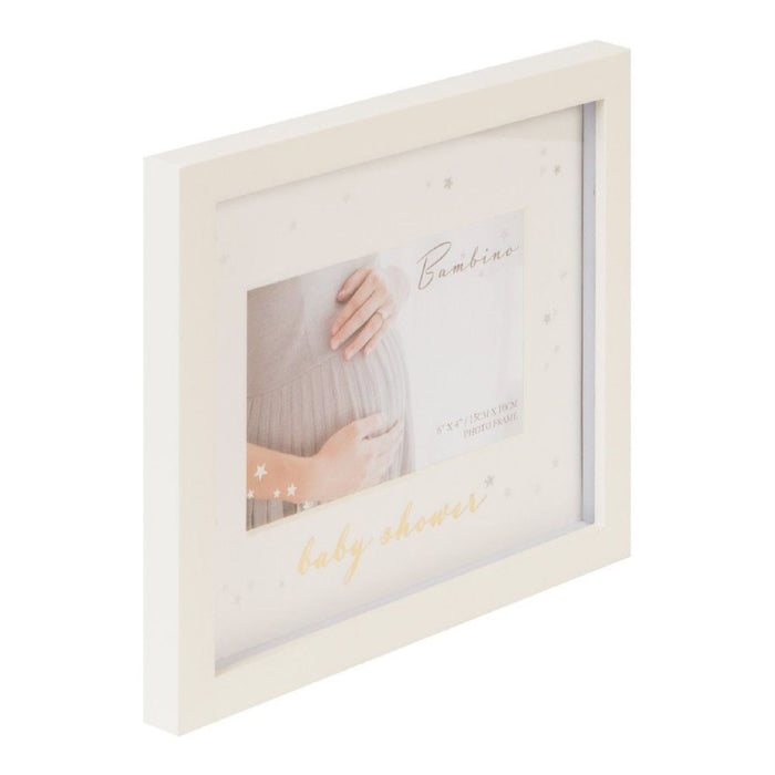 "Bambino Baby Shower 6"" x 4"" Picture Frame"