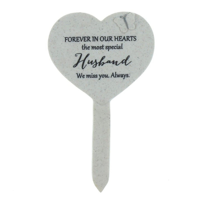 Thoughts Of You Heart Graveside Stake