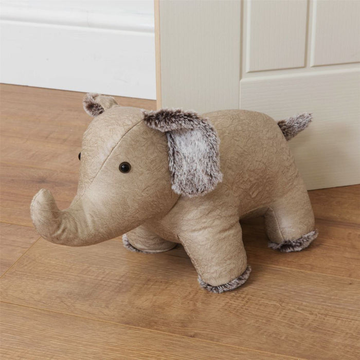 Hestia Faux Leather Heavy Animal Door Stop