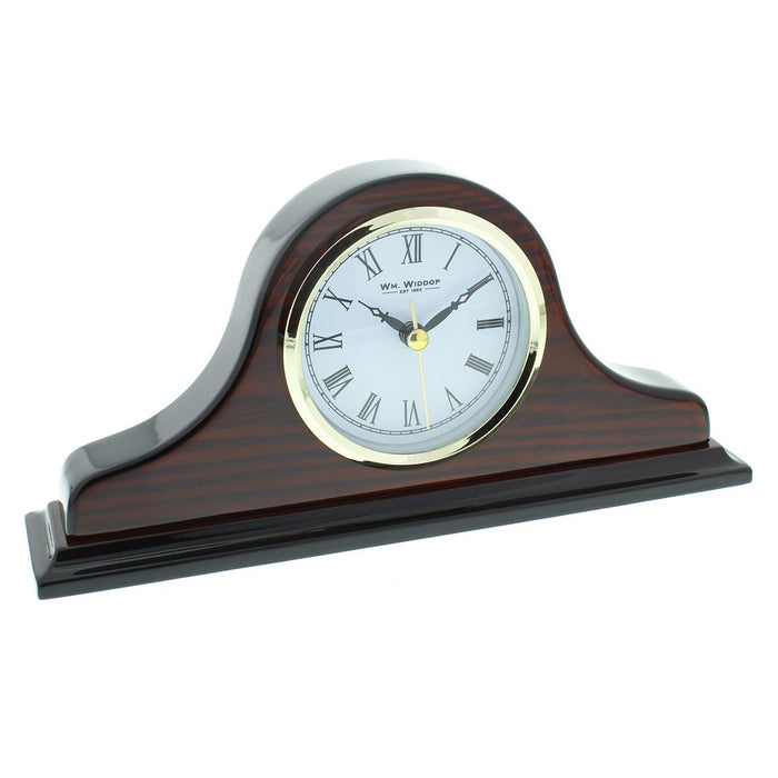 Wm. Widdop Napoleon Wood Mantel Clocks