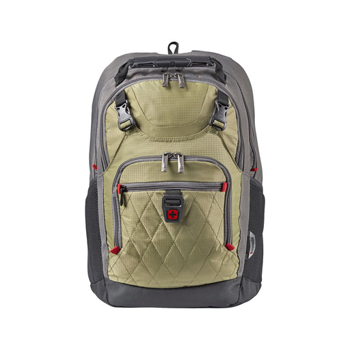 "Wenger Priam 16"" Laptop Green Backpack"