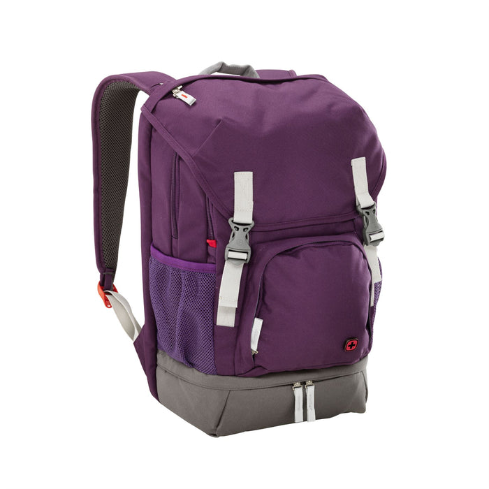 "Wenger Jetty 16"" Laptop Purple Backpack"