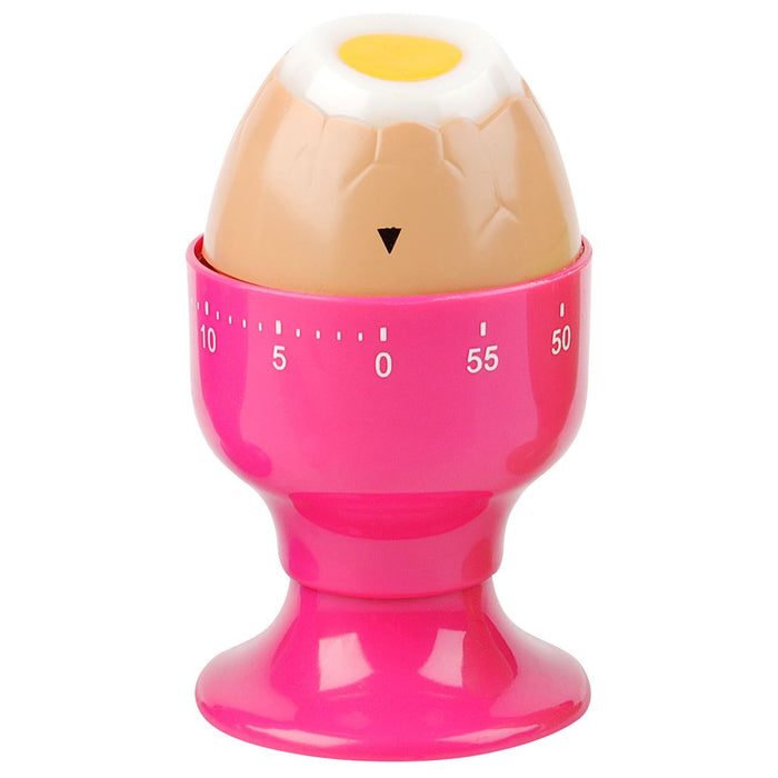 Silly Gifts Pink Egg Cup Kitchen Timer
