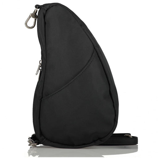 Healthy Back Bag Microfibre Large Baglett Black Handbag