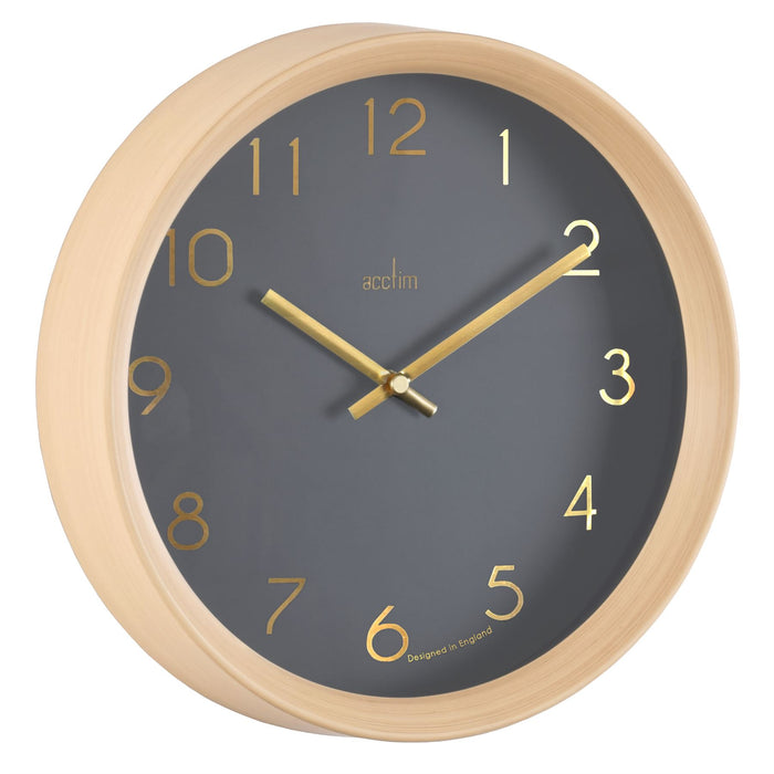 Acctim Upsilon 25cm Wall Clock