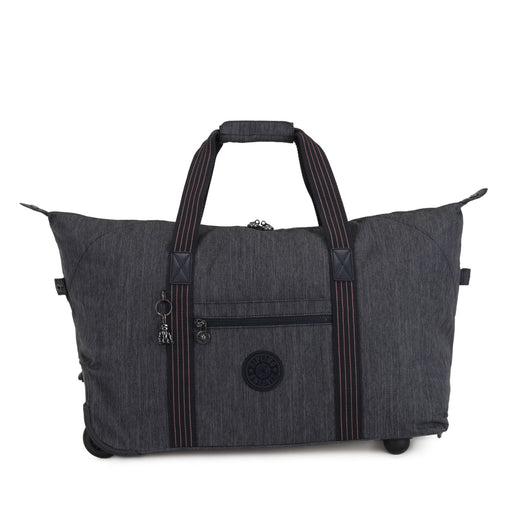 Kipling Art On Wheels M Medium Rolling Holdall