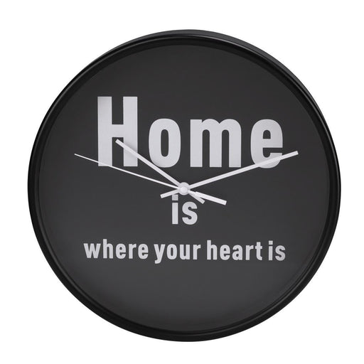 Hama Click Home Is Where Your Heart Is 26cm Wall Clock