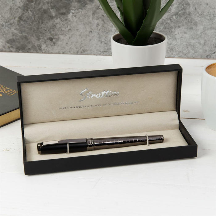 Stratton Rollerball Pen  with Gift Box