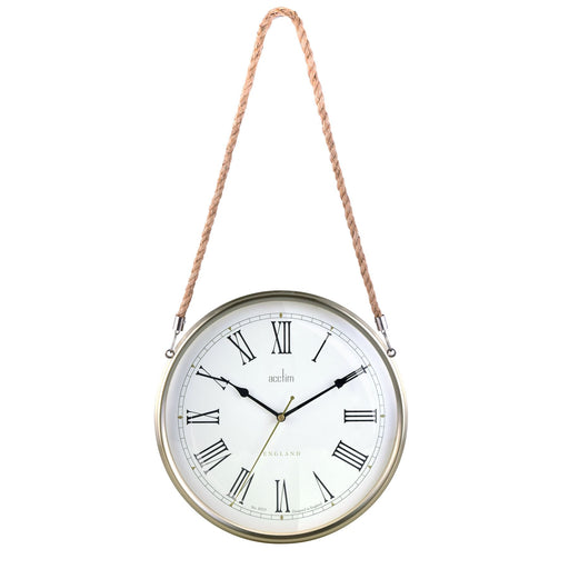 Acctim Geddington Antique Gold 28cm Wall Clock