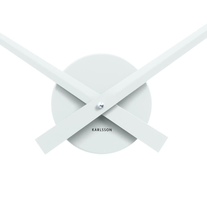 Karlsson Little Big Time Aluminum Wall Clock