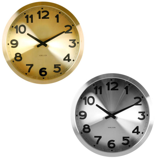 Karlsson Station 39.5cm Wall Clock