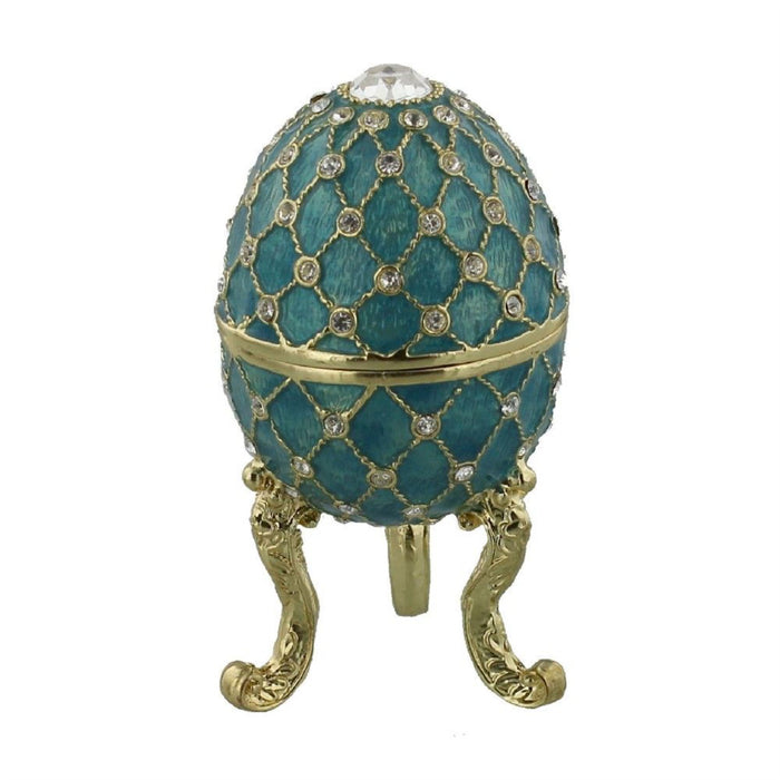 Treasured Trinkets Enamelled Eggs with Gift Box