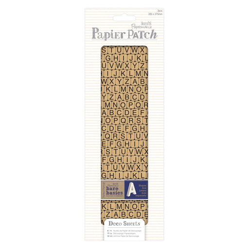 Docrafts Papermania Pack of 3 Deco Sheets