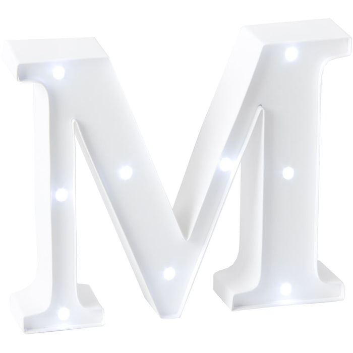 Love Letters Light Up Letter Wall / Mantel Plaque