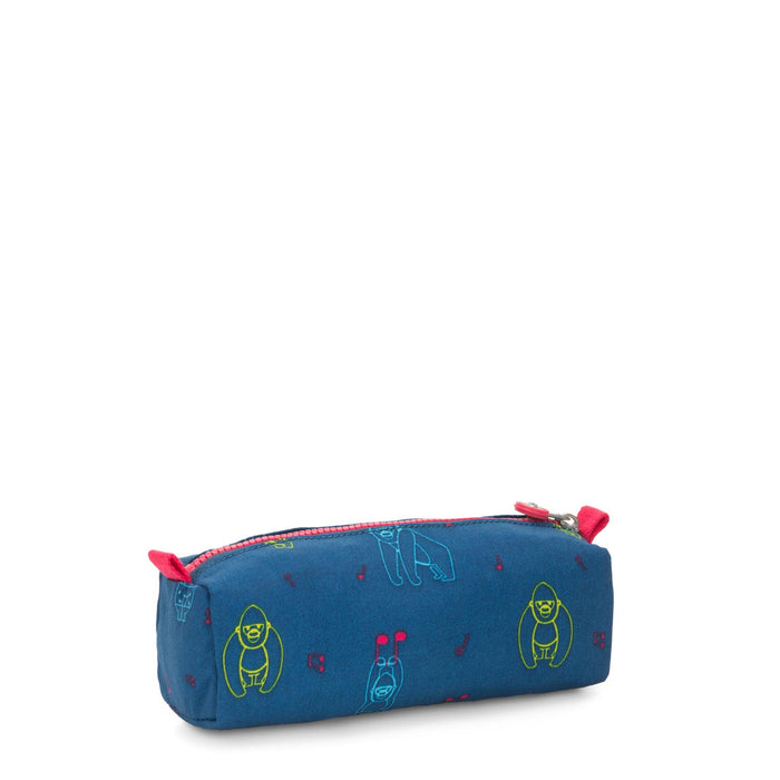 Kipling Cute Two Pocket Pencil Case / Make Up & Cosmetic Case / Wash Bag